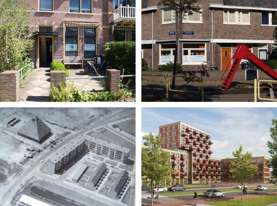 Geschiedenis van de verschillende locaties van Huisartsenpraktijk Noordhof